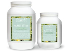 Lemon Flower Butter Scrub