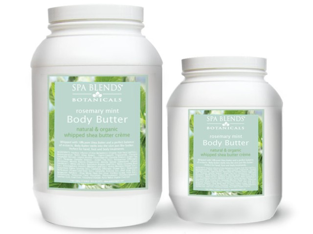 Rosemary Mint Body Butter (.21-11)