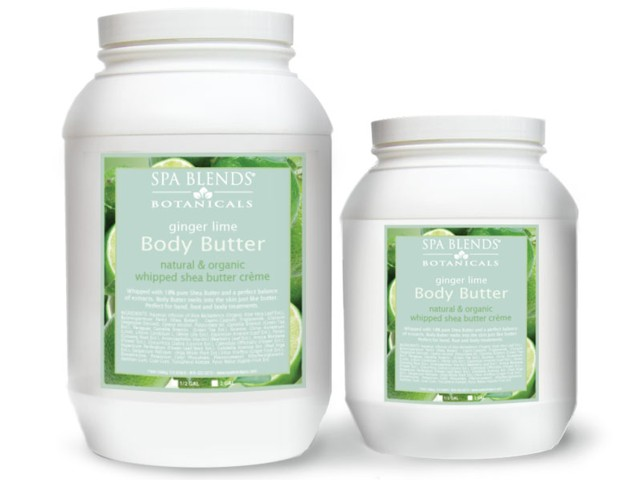 Ginger Lime Body Butter (.25-11)
